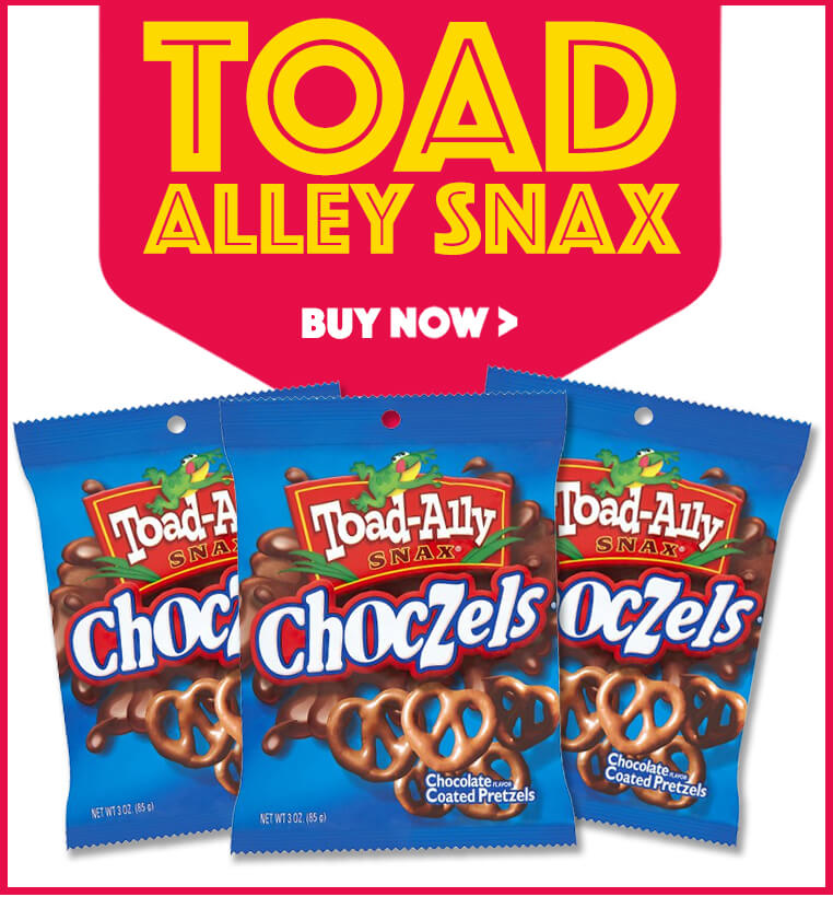 New Toad Alley Snax